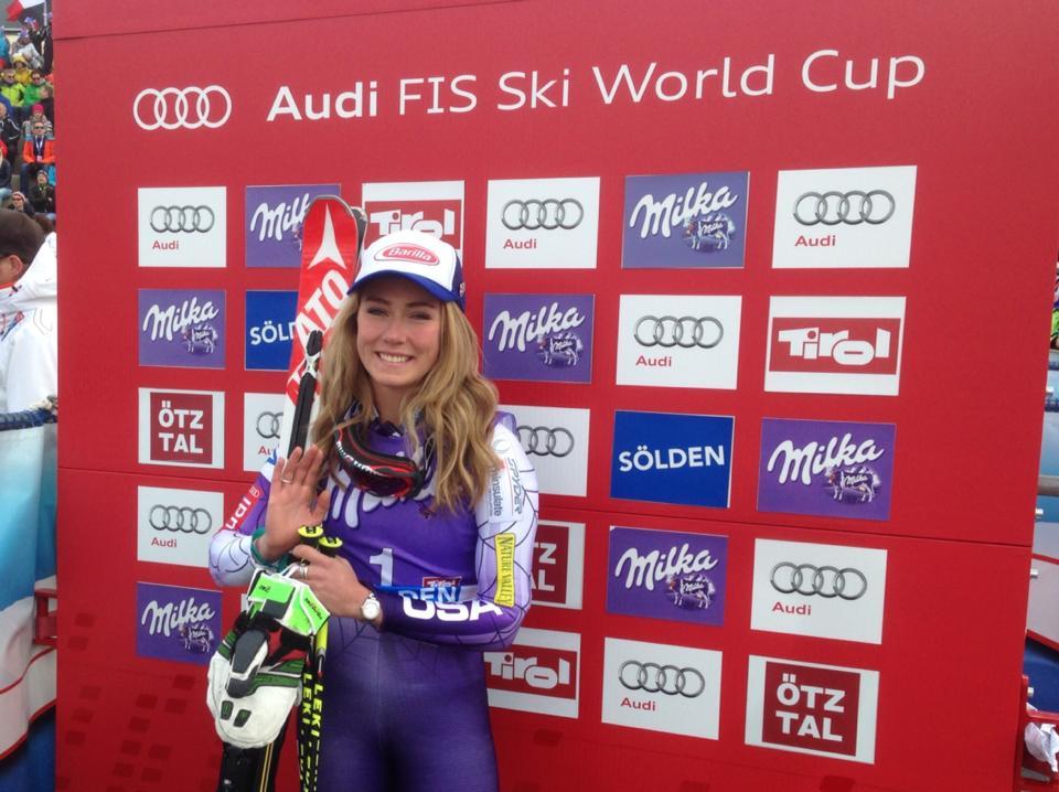 Obrovský slalom žien v Söldene – 1. kolo