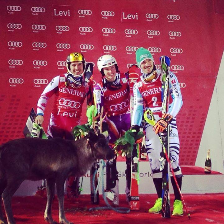 Henrik Kristoffersen kráľom slalomu v Levi