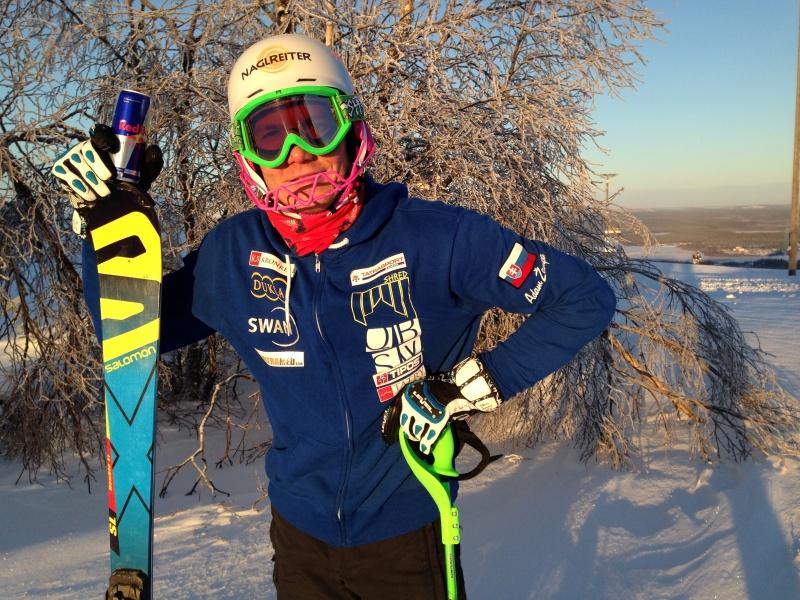 Adam Žampa bude v 2. kole slalomu v Levi bojovať o popredné priečky
