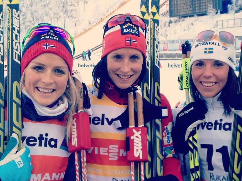 Dnešné preteky bežcov na lyžiach v Kuusame pre Johaugovú a Niskanena