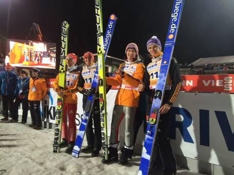 Nočnú tímovú súťaž v nemeckom Klingenthale vyhralo domáce družstvo
