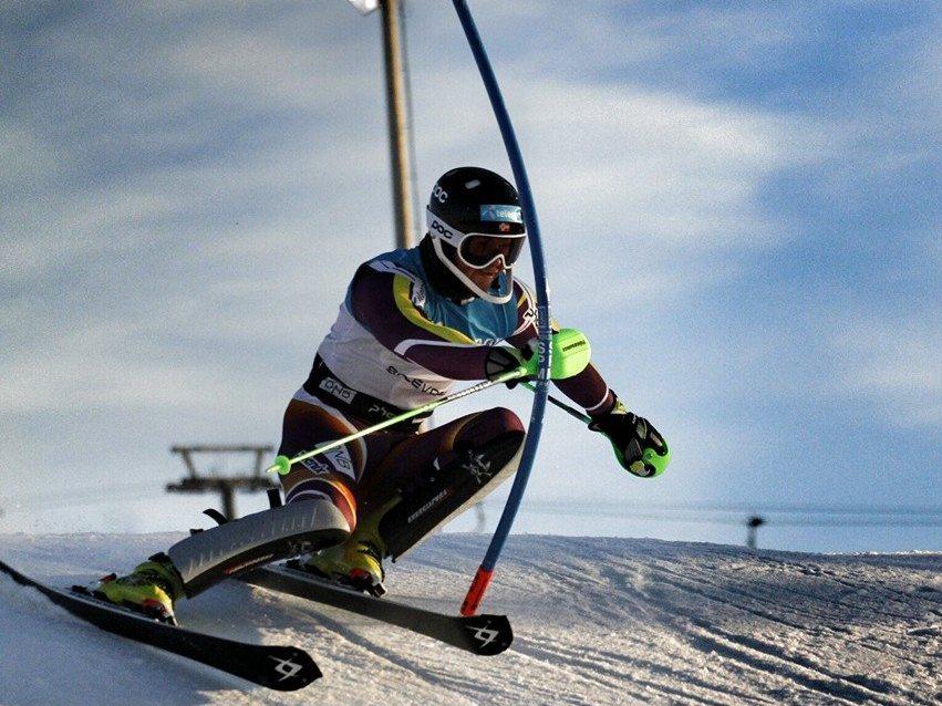 Slalom EP v Levi ovládol Nór Solevaag