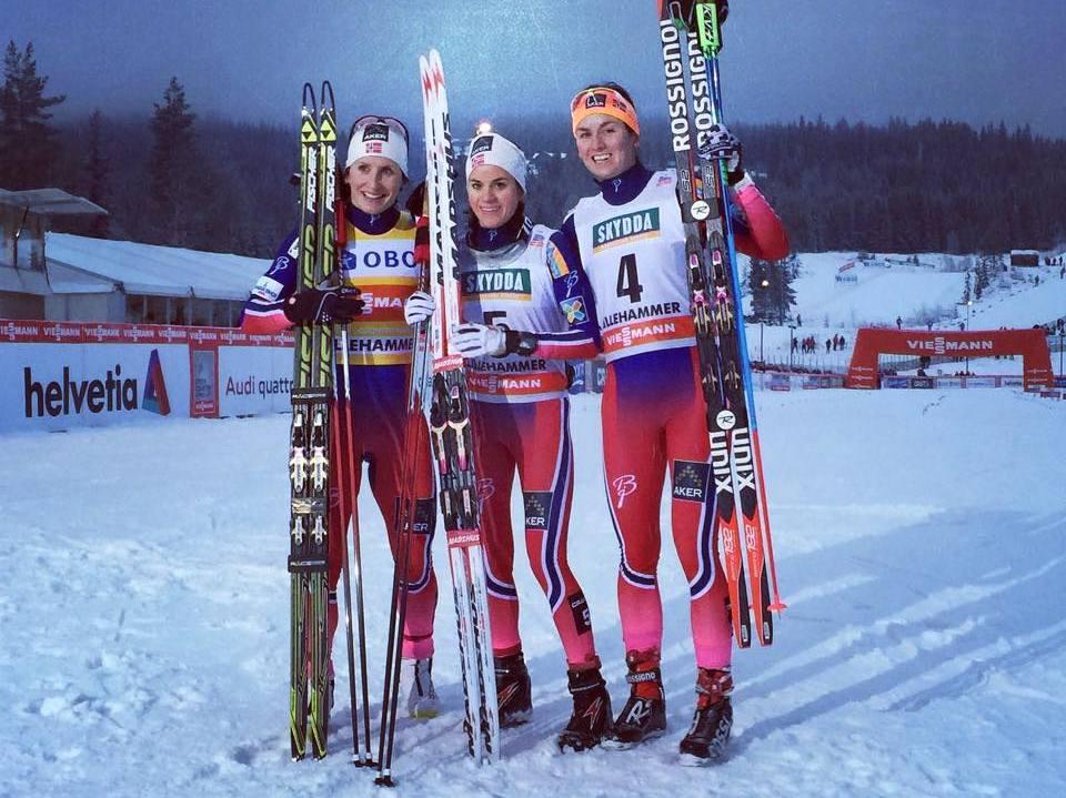 Šprinty v Lillehammeri ovládli Nóri