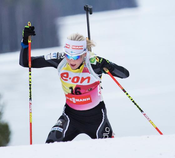 Skvelá Mäkäräinenová si vybojovala triumf v stíhacích pretekoch v Östersunde