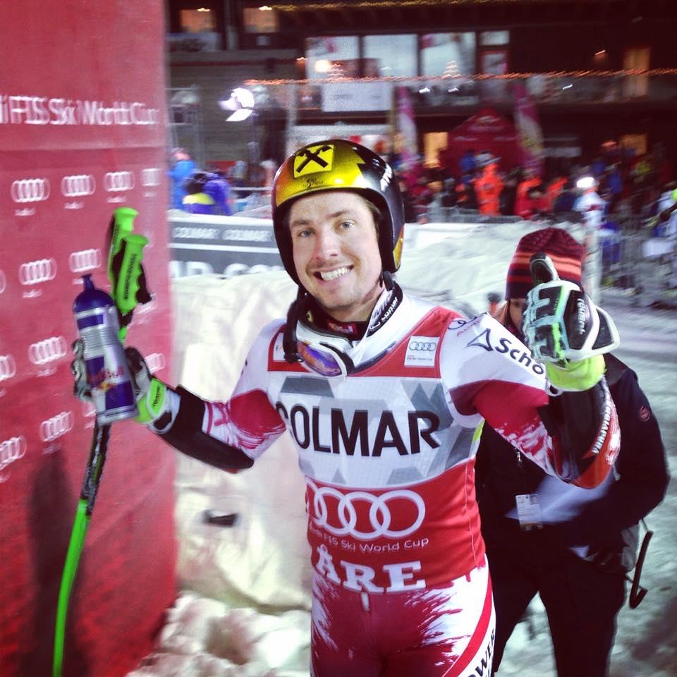 Primát Hirschera v slalome v Méribeli, štvrtý raz v rade ovládol celkové poradie