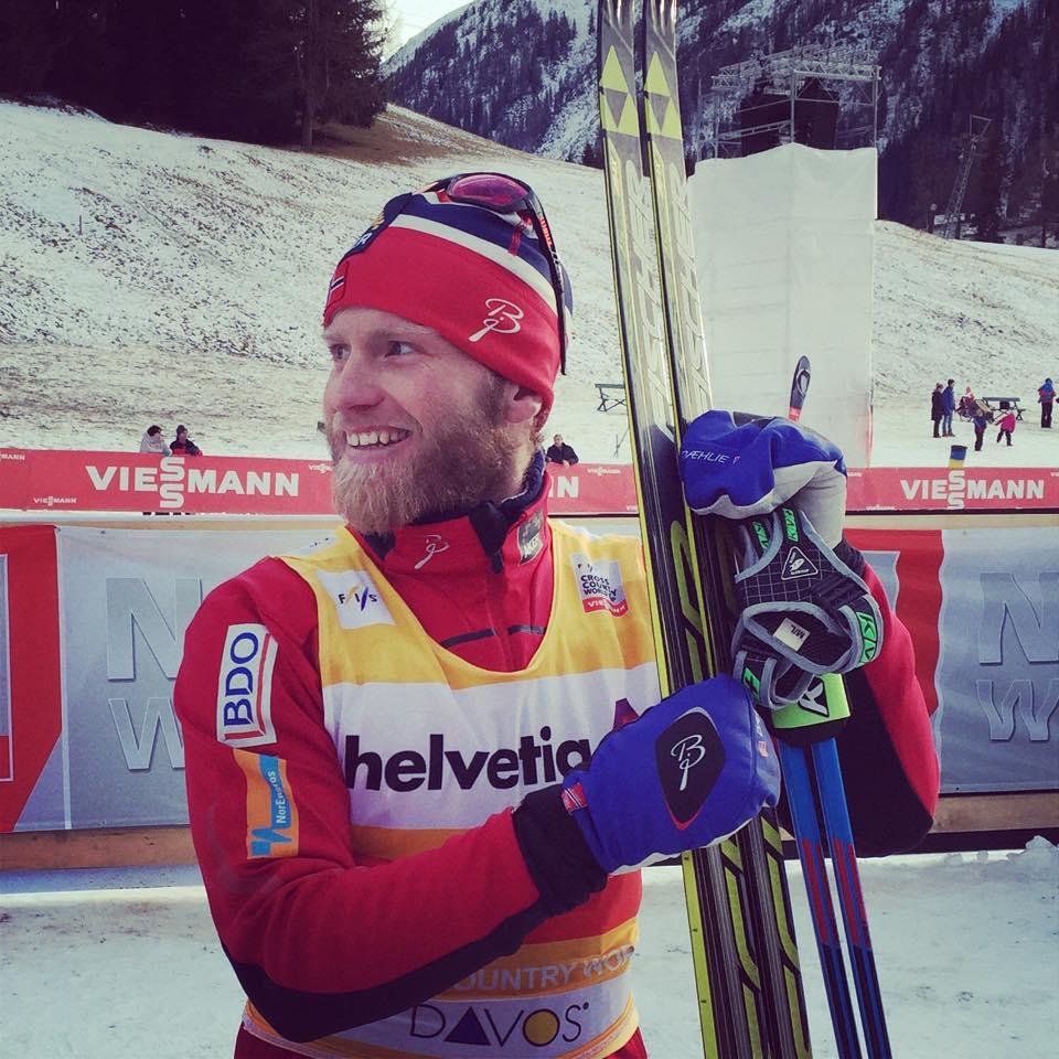 Sundby prvý na 15 km klasicky v Davose