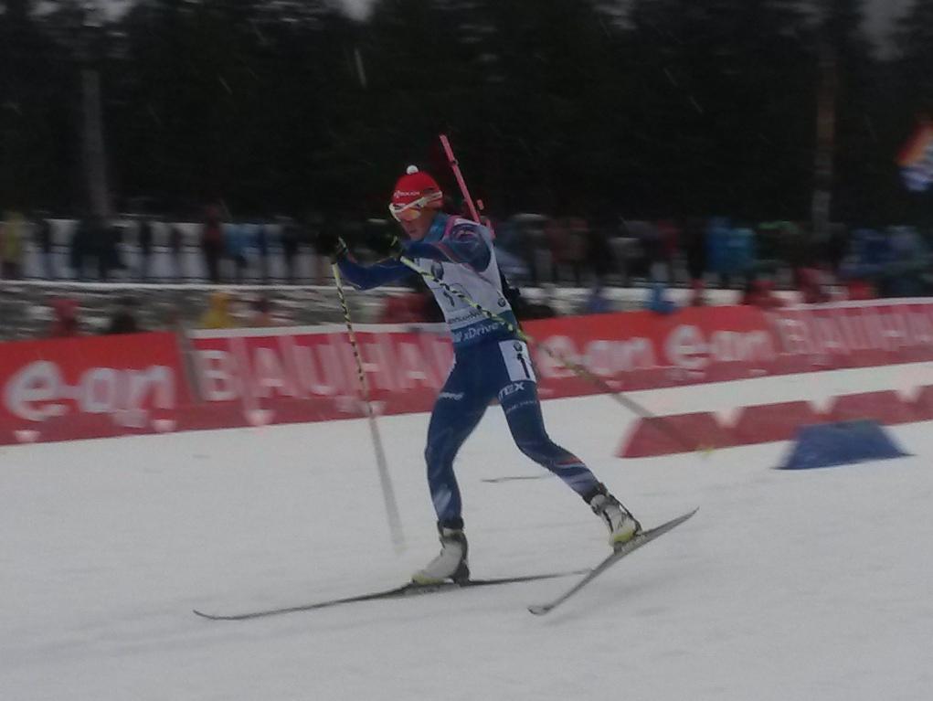 Biatlonová štafeta v Ruhpoldingu suverénne pre Češky