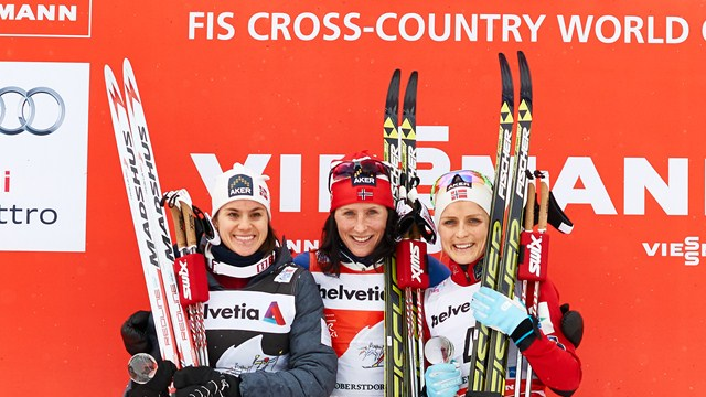 Bjoergenová a Northug lídrami po druhej etape Tour de Ski