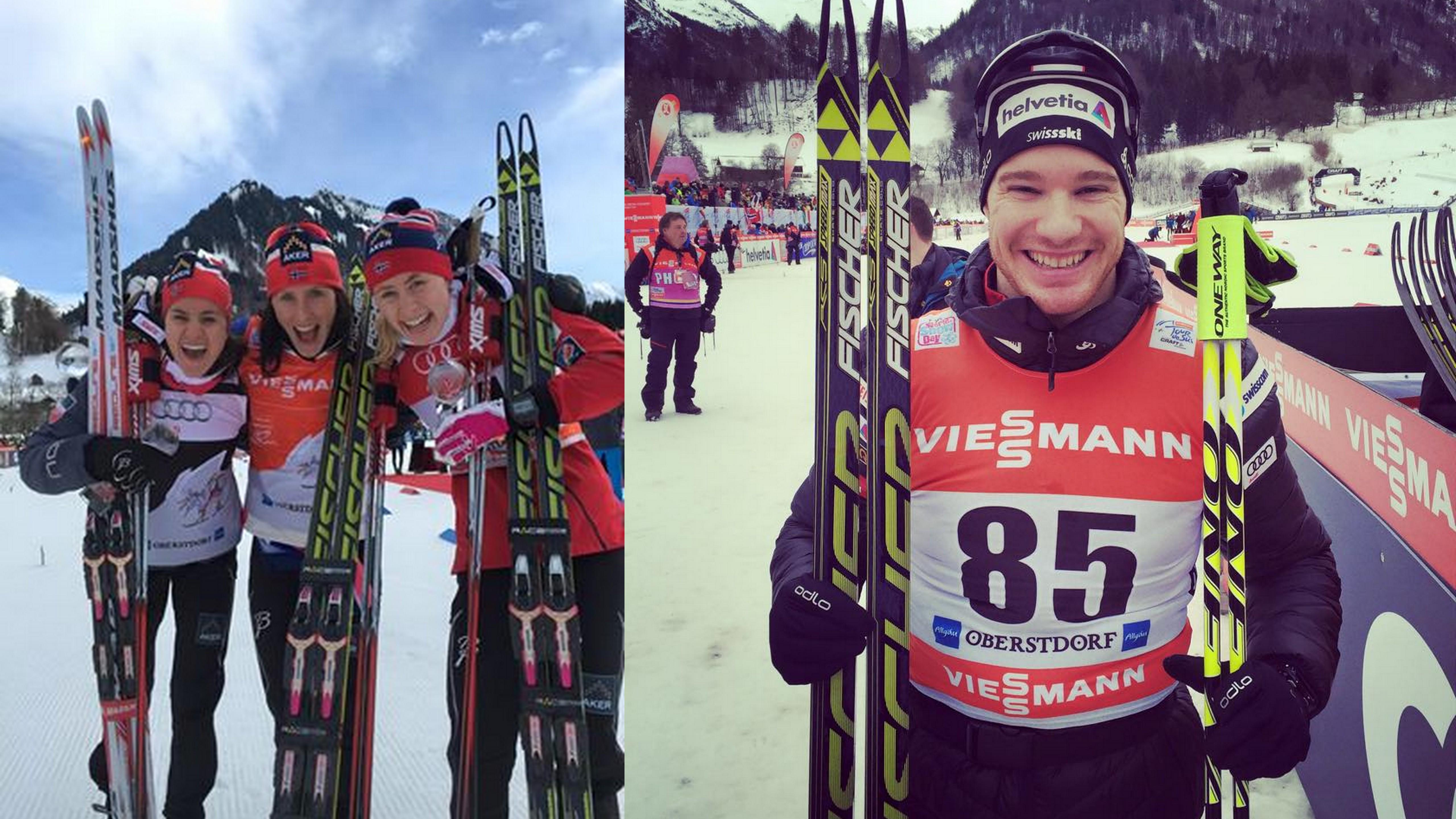 Prológ na Tour de Ski v Oberstdorfe pre Bjoergenovú a Colognu