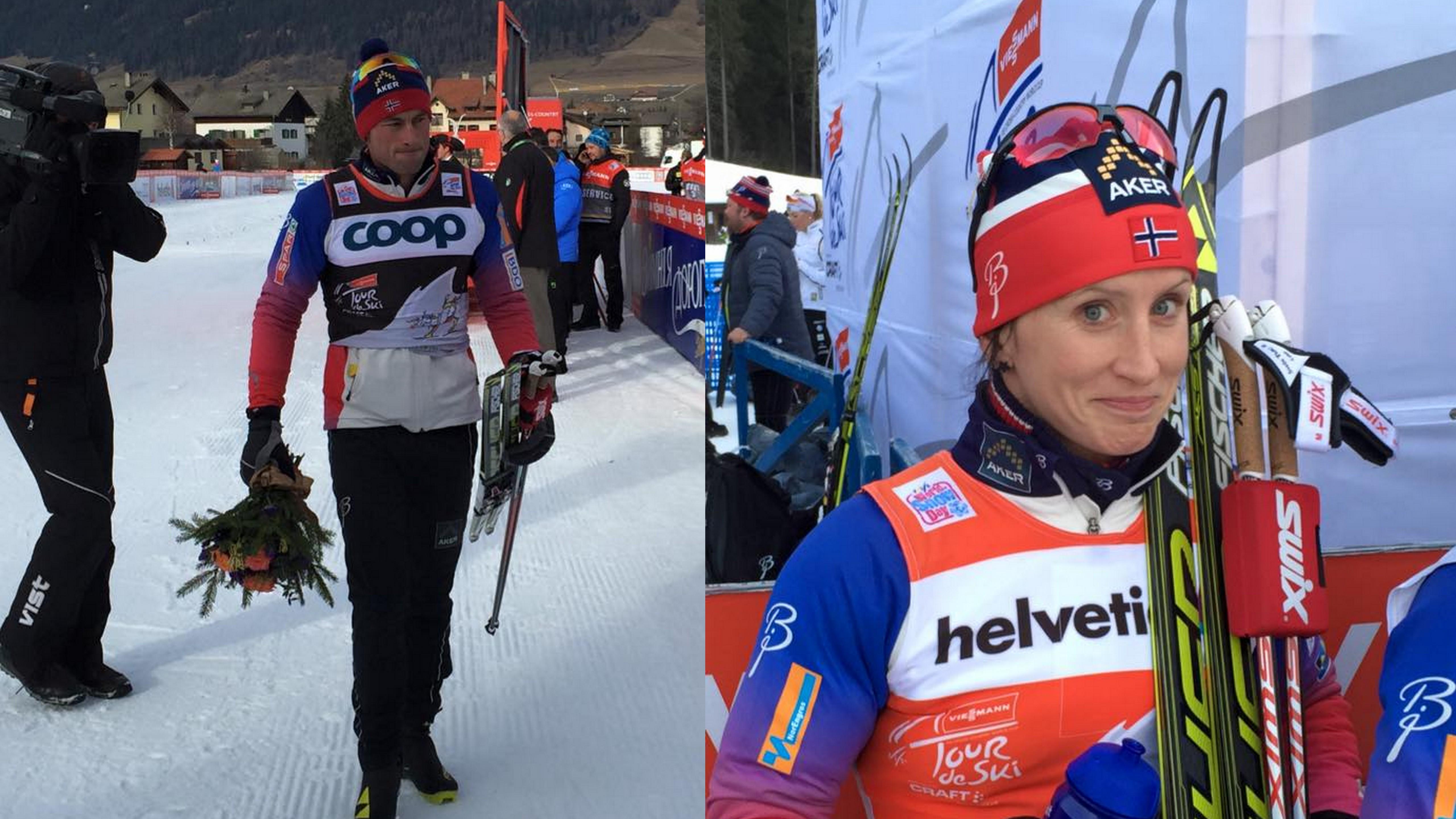 Spanilá jazda Bjoergenovej pokračuje aj po 5. etape, Northug si víťazstvom udržal vedenie