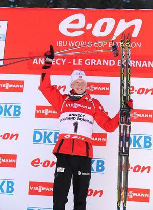 Fantastický Johannes Thingnes Boe suverénne vyhral rýchlostné preteky