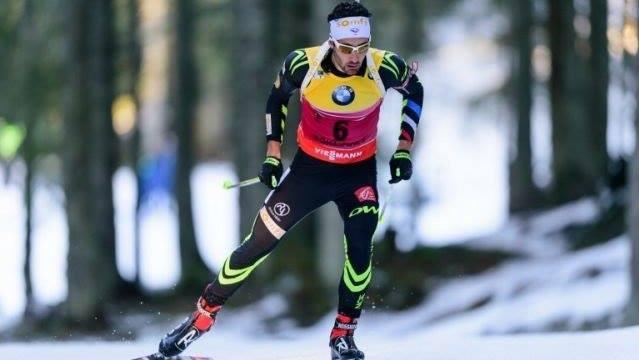 Biatlonový šprint v Oberhofe vyhral Martin Fourcade