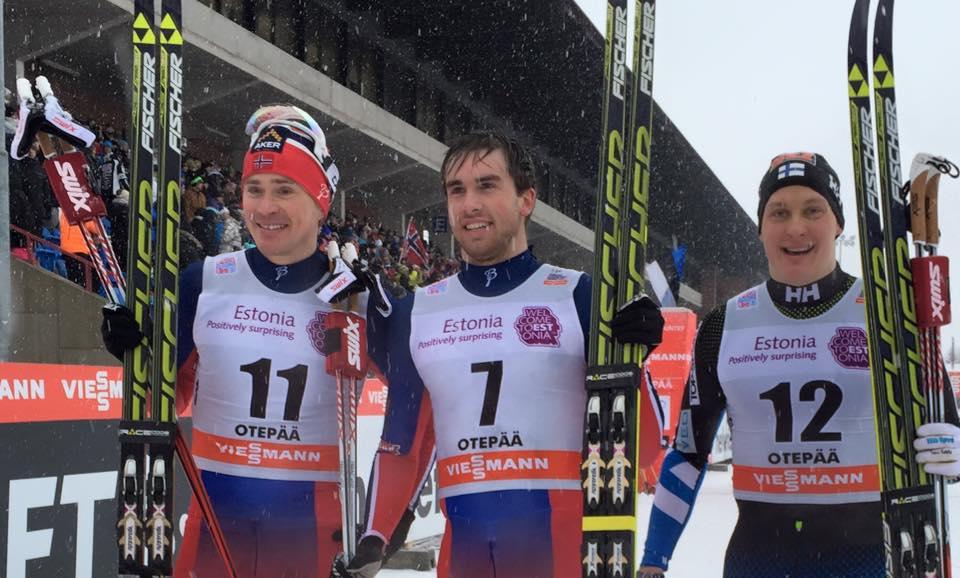 Víťazmi šprintu v behu na lyžiach v Otepää Oestbergová a Tomas Northug
