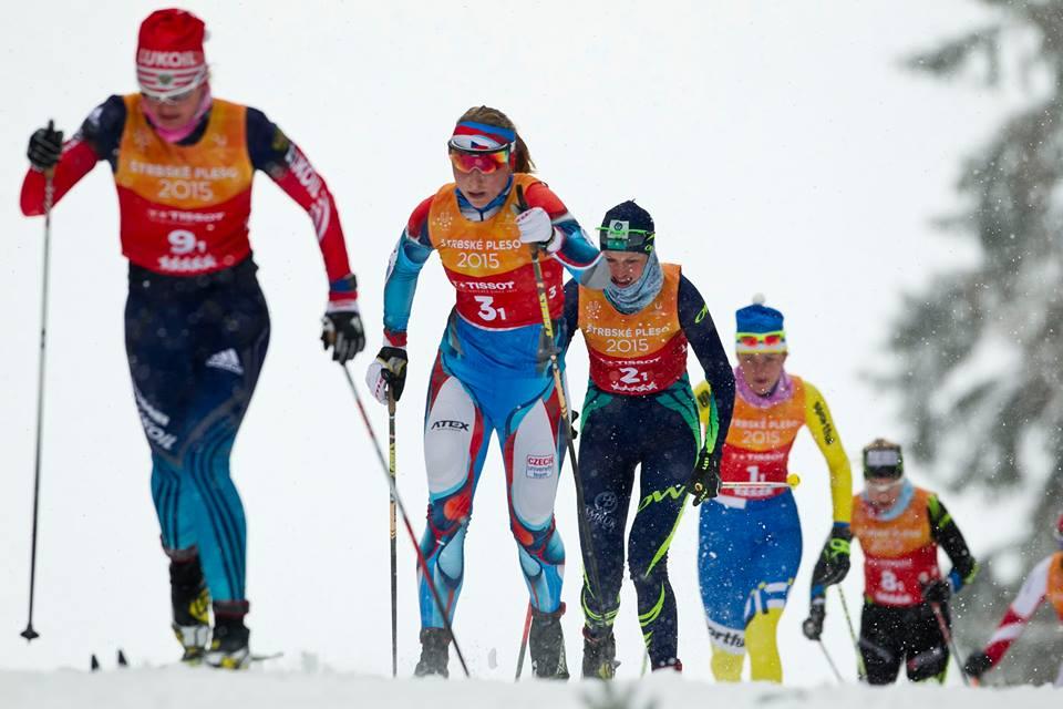 Štafety v behu na lyžiach na Štrbskom Plese ovládli Rusky a Rusi