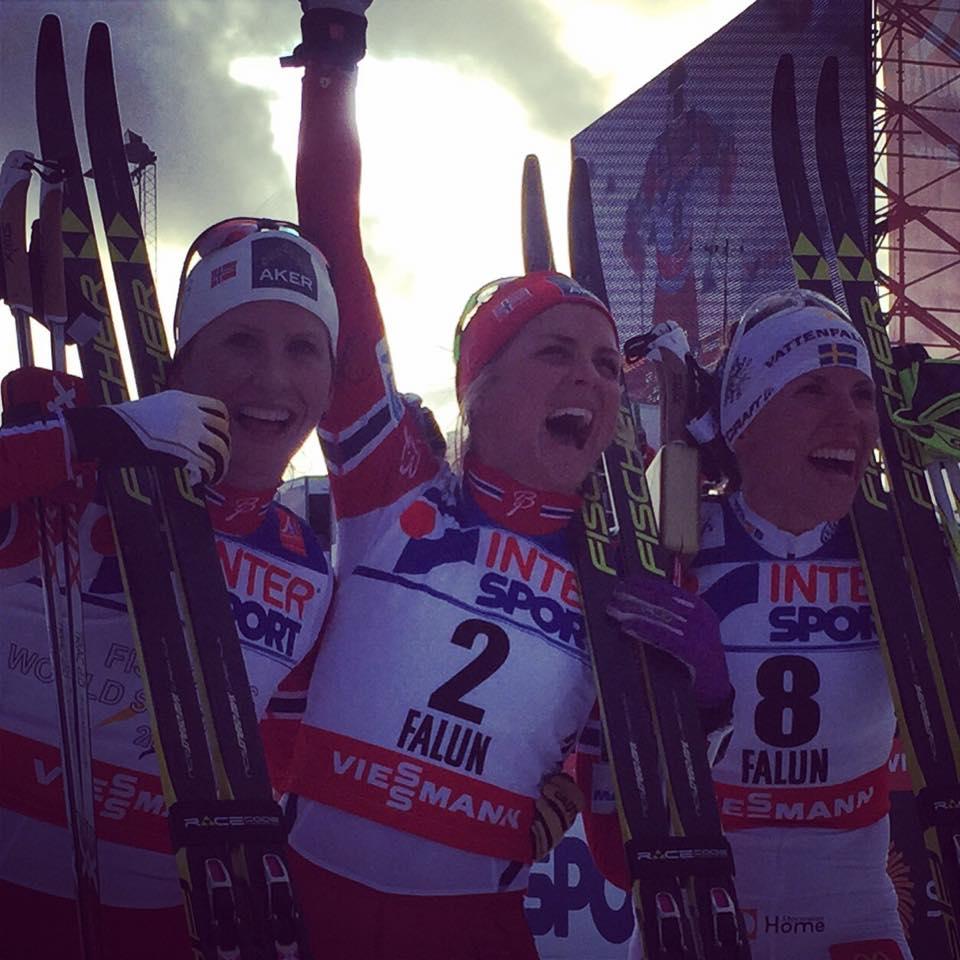 Therese Johaugová utiekla zvyšku sveta v záverečných pretekoch na 30 km klasicky