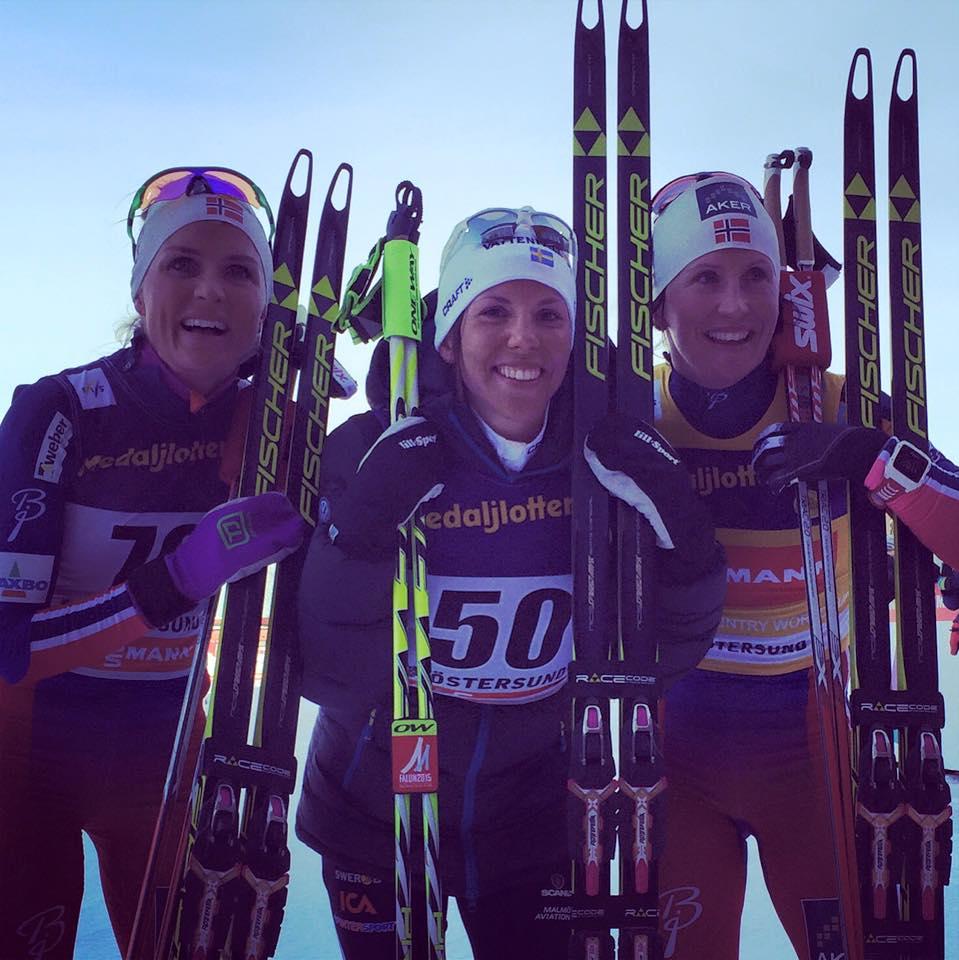Posledné preteky SP bežcov na lyžiach v Oestersunde pred MS pre Kallaovú a Krogha