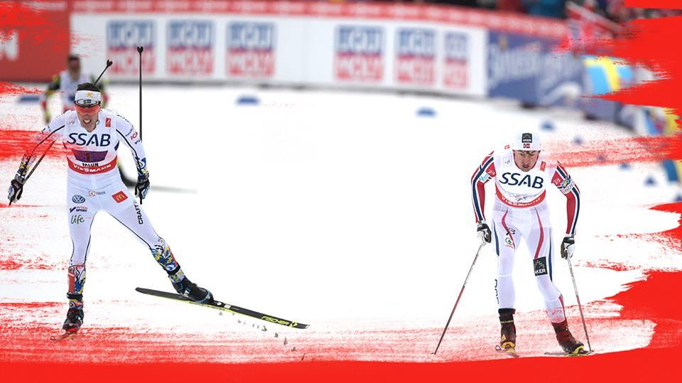 Zaujímavá zápletka v štafete na 4×10 km pre Nórov, ktorí vyhrali už 8. raz za sebou