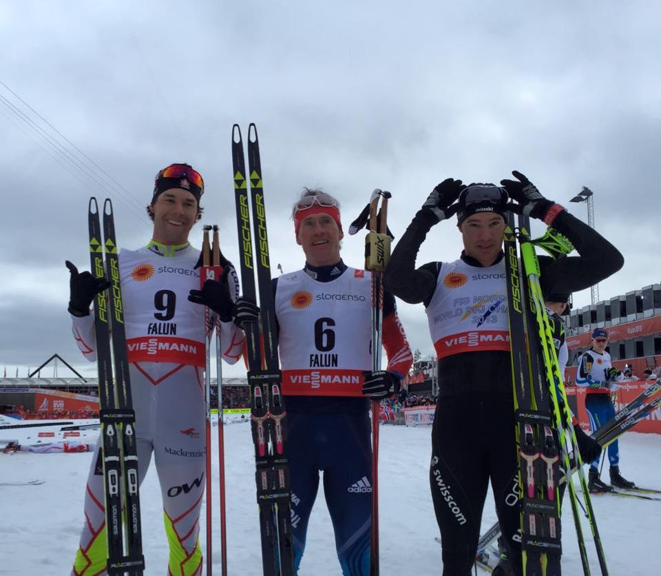 Johaugová a Vylegžanin majstrami sveta v skiatlone