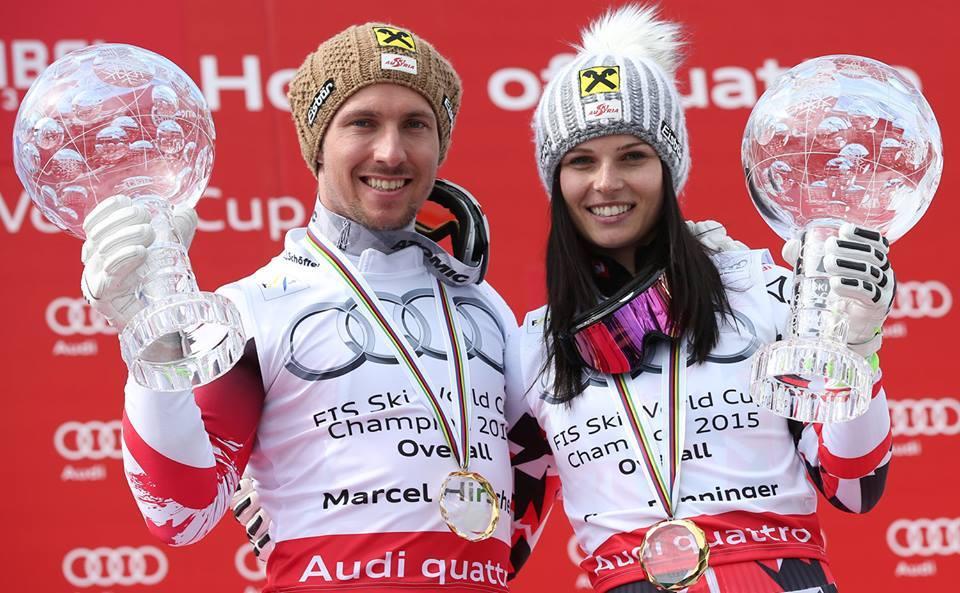 Držitelia krištáľových glóbusov v alpskom lyžovaní v sezóne 2014/2015