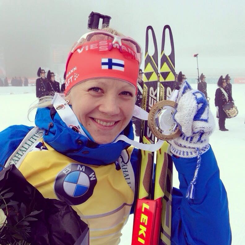 Kaisa Mäkäräinenová pokračuje v kariére