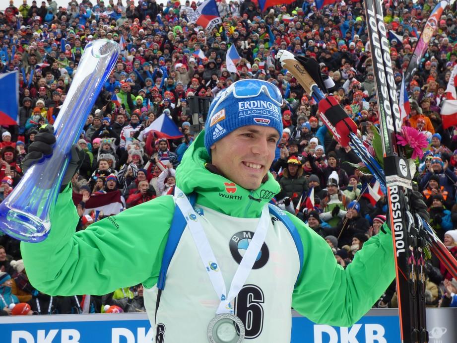 Poslední mužský závod v Oberhofu ovládli Němci, Michal Krčmář v TOP10