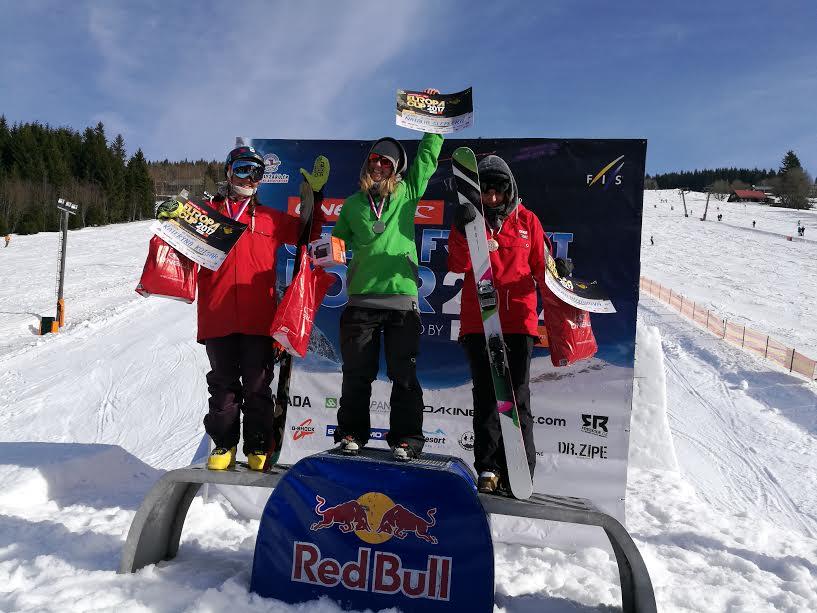Skvelá Natália Šlepecká ovládla slopestyle EP v Peci pod Sněžkou