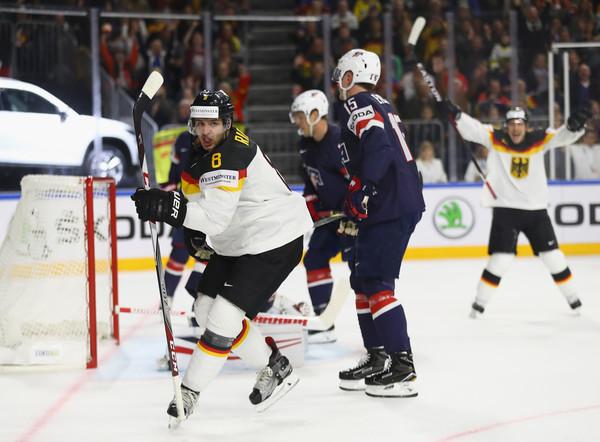 Prvý deň na MS v hokeji: Domáce Nemecko prekvapilo USA