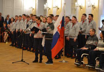 Olympionici zložili sľub do rúk prezidenta Slovenskej republiky