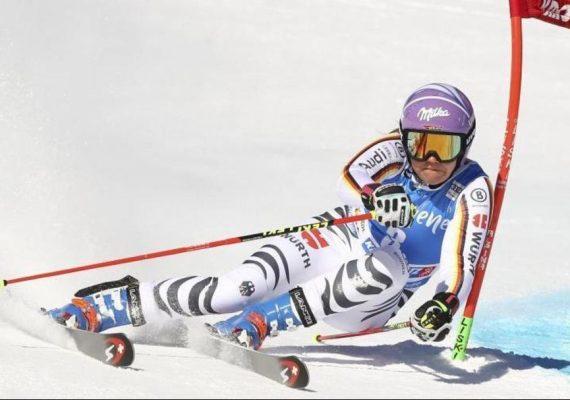 SP Kronplatz: Viktoria Rebensburgová vyhrala obrovský slalom a oblečie si červený dres