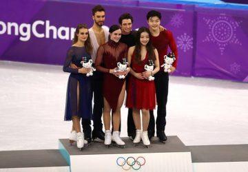 ZOH Pjongčang krasokorčuľovanie: Virtueová a Moir berú zlato vo svetovom rekorde