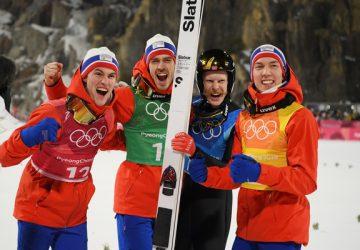 ZOH Pjongčang: Na záver programu v rámci skokov na lyžiach triumfovali Nóri