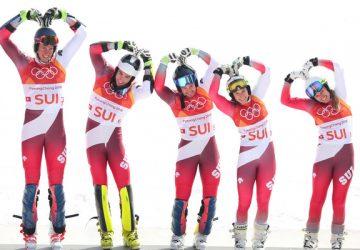 Švajčiari sa stali olympijskými víťazmi v tímovej súťaži, Slováci obsadili deviate miesto