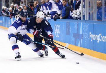 Slovenskí hokejisti podľahli Američanom najtesnejším rozdielom