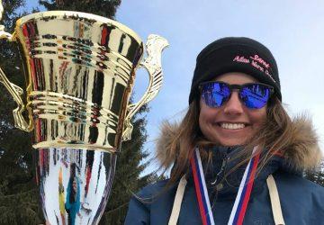 Zuzana Stromková získala titul Majsterky Slovenska vo freestyle lyžovaní