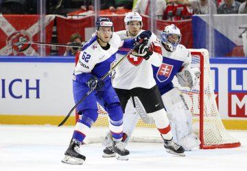 Slovensko prehralo zápas so Švajčiarskom