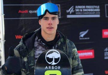 Snoubordista Samuel Jaroš na MS juniorov obsadil v Big Air 4. miesto