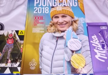 Súťaž o knihu Pjongčang 2018 s podpisom Anastasie Kuzminovej