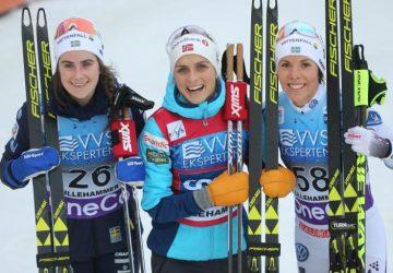 SP Lillehammer: Domácich fanúšikov rozradostili triumfom Johaugová a Roethe