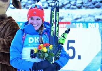 Paulína Fialková skončila s vynikajúcim behom v top 6 šprintu SP v Pokljuke