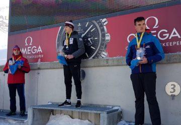 Mladým slovenským sánkarom sa darilo na ME a v SP, Marián Skupek skončil na stupňoch víťazov