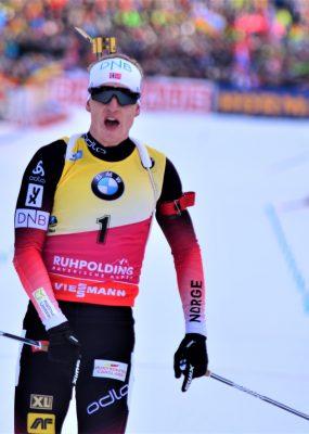 Johannes Thingnes sprintet zum Sieg