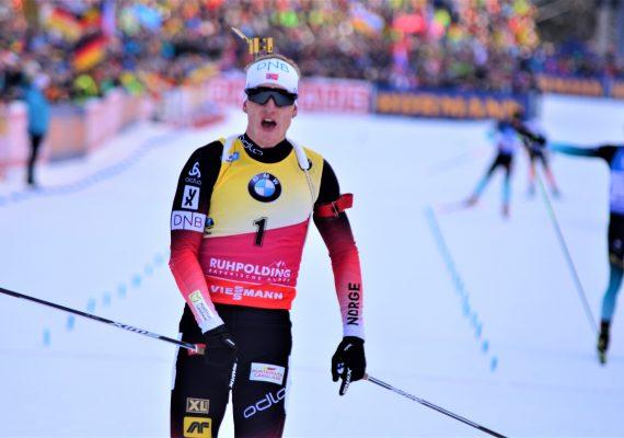 Johannes Thingnes Boe gewinnt drittes Rennen in drei Tagen
