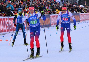 Slovenskí biatlonisti sa v štafete umiestnili v top 10