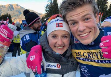 Trinástu edíciu Tour de Ski ovládli debutovo Oestbergová a Klaebo