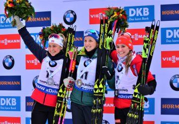 Elitná trojica zhodnotila preteky s hromadným štartom SP v Ruhpoldingu