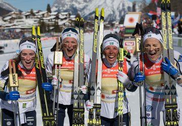 MS Seefeld: Švédske bežkyne na lyžiach zvíťazili v štafete na 4×5 km