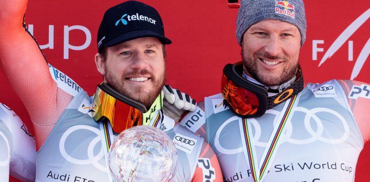 MS Aare: Kjetil Jansrud získal v zjazde zlato, Aksel Lund Svindal sa rozlúčil striebrom