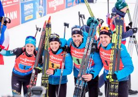 Frankreich gewinnt Generalprobe vor Östersund