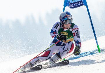 Alexis Pinturault ovládol finálový obrovský slalom SP v Soldeu