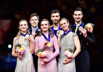 MS v krasokorčuľovaní Saitama: Majstrami sveta v tancoch sú Gabriella Papadakisová a Guillaume Cizeron, zlato obhájil Nathan Chen